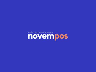 NovemPOS - Branding Identity product design logo branding payments management system management app order payment