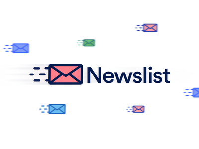Newslist Logo logo newsletter mail bulletin mailing