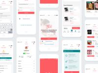 TutumluAnne Mobile App Design
