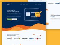 Bodify Landing Page