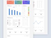 Data / Metrics Dashboard Design