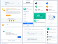 StartupMarket   Components Designed on UI Stage