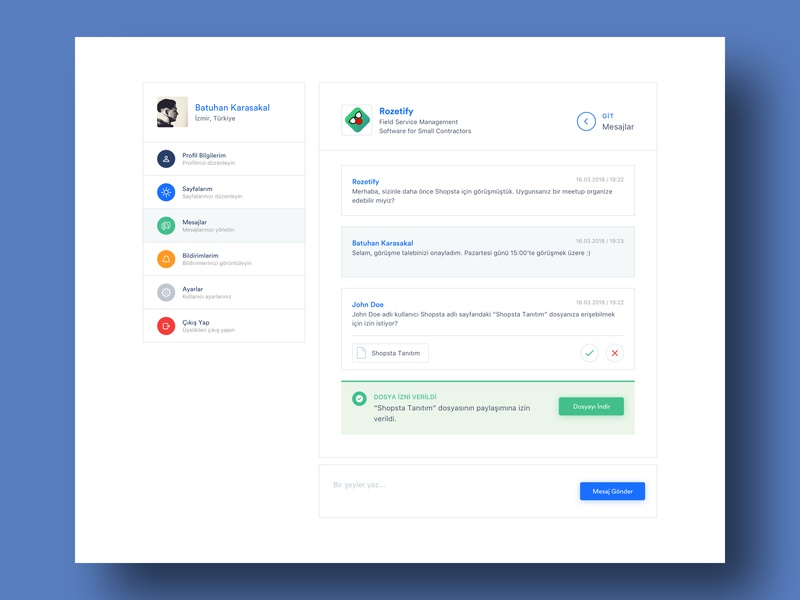 Live Chat and File Transfer Feature startup startupmarket feature design management transfer file message messenger live chat live
