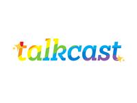 "Talkcast says ""Happy Pride"" to y'all!"