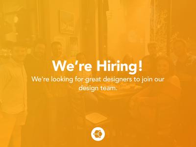 SOCIO |Design Team is Growing!