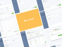 Vakif Emeklilik |Employee's New Tablet App Dashboard Screen