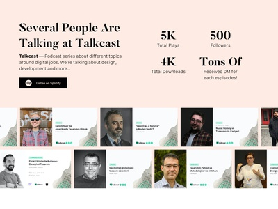 Several People Are Talking at Talkcast