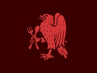 Eagle, Spoon and Fork