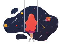 Swinging in the space