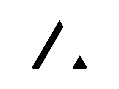 New ME a identity typography brand logo ident