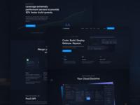 Northflank: Marketing Pages v2 server gaming modern hero marketing site platform cloud ci cd code devops dark ui design ux ui website web design webdesign landing page landing
