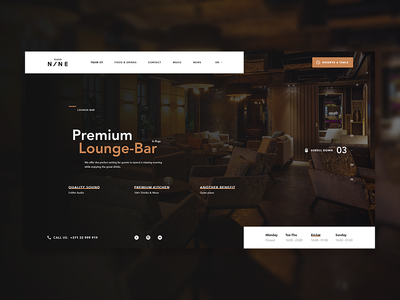 Lounge Bar Home Page   Rebound