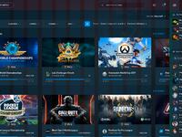 Esports web grid