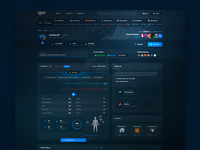 Gamer's Profile UI