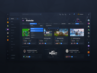 E-Sports Website Design (Tournaments)