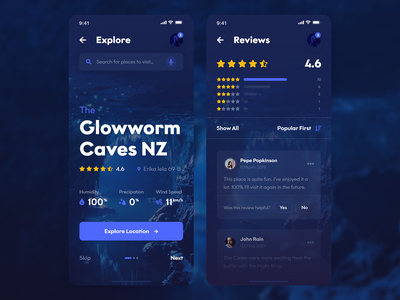 Upcoming Screens (Travel & Discovery UI Kit) dark ps discovery travel xd adobe xd mockup theme android apple iphone x ios iphone mobile ui kit ui template white light photoshop