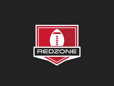 Redzone Logo american rz sports shield logo football redzone