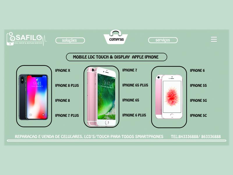 Safilo Mobile CellShop logodesignbrand illustration brand design productdesign product card product catalog ui  ux design