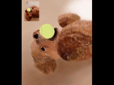 Dog Art - Winnie
