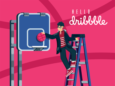 First Shot - Hello Dribbble