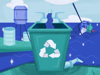 Water Sanitation Month Poster