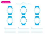 UI Paper: Samsung Galaxy Watch 46mm