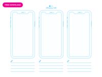 UI Paper:  Apple iPhone XR