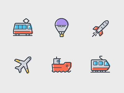 Transportation Icon transportation icon