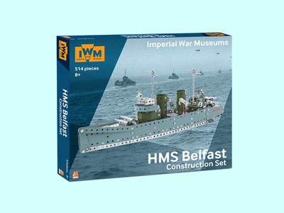 IWM HMS Belfast Construction Set