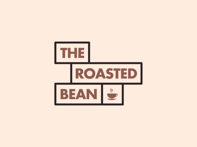 The Roasted Bean coffee shop coffeeshop coffe identity designer identity branding identity design identitydesign identity typography branding design brand identity brand design branding brand visual identity logo design logos logodesign logotype logo