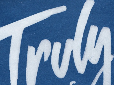 Madly Deeply Truly (Yours) type typography lettering