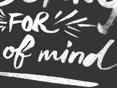 State of Mind Detail type typography lettering hand draw sketch