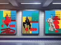Indoor Advertising Poster Billboard for Ninth Month