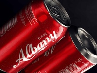 Enjoy Albany Coke Can