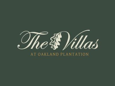 The Villas Branding