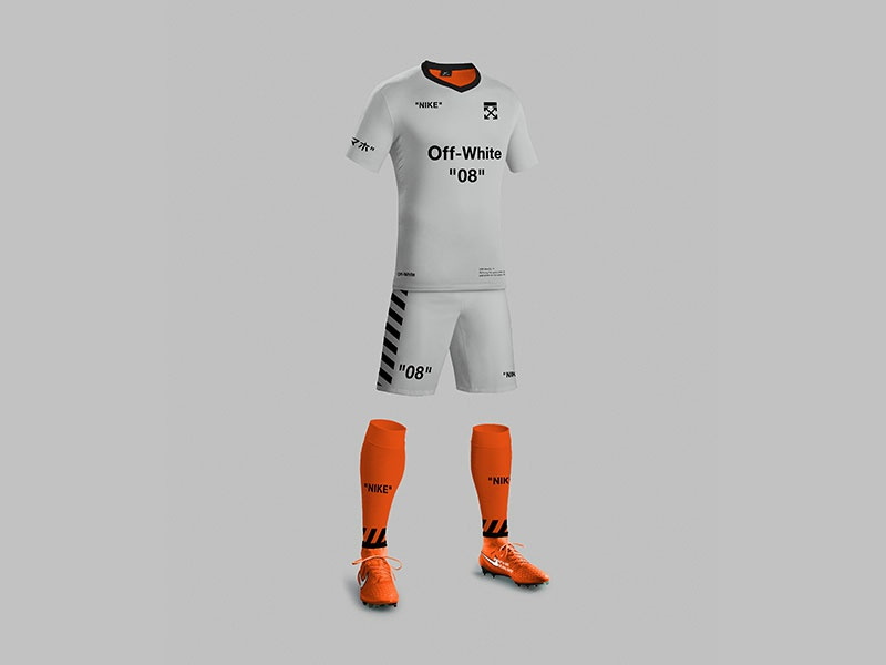 size 40 9c037 ceb6a Nike Off-White Kit Concept by Andres Garcia on Dribbble