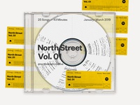 North Street Vol.01 Playlist Cover