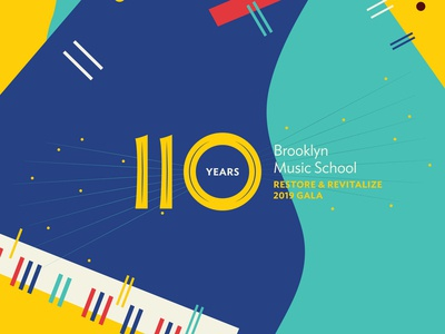 Brooklyn Music School – 2019 Gala – Visual Identity