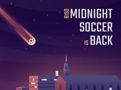 RISD Midnight Soccer social media ad
