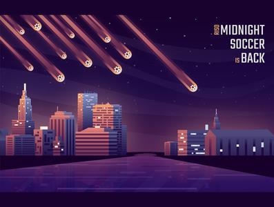 RISD Midnight Soccer poster