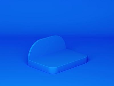 Daily Practice logo motion graphics graphic design head portrait interface mobile ux phone practice aircraft airplane paper paper plane blue c4danimation 3danimation 3d c4d animation ui