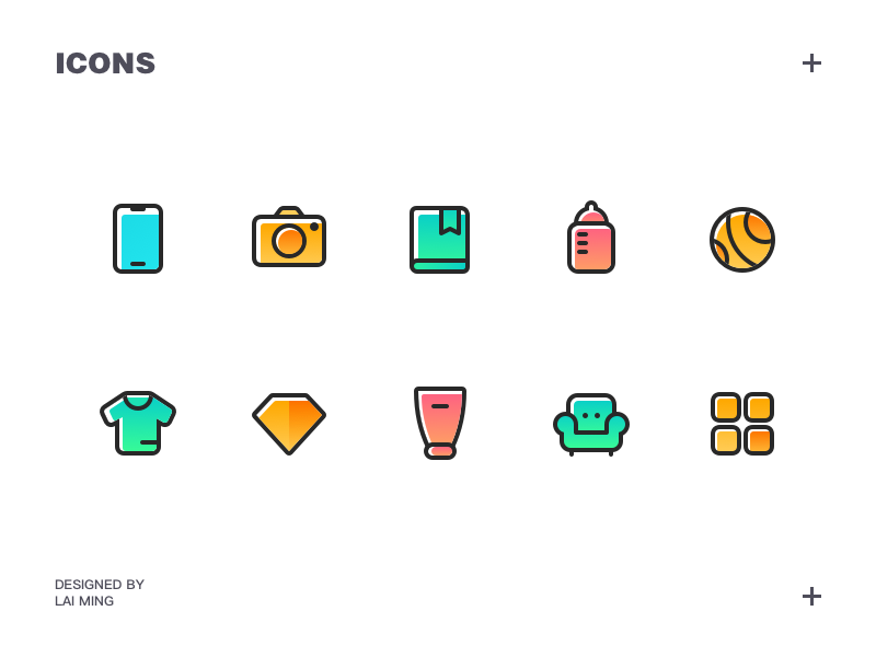 Icons By Lai Ming On Dribbble