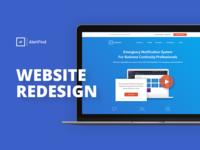 Alertfind Website Redesign