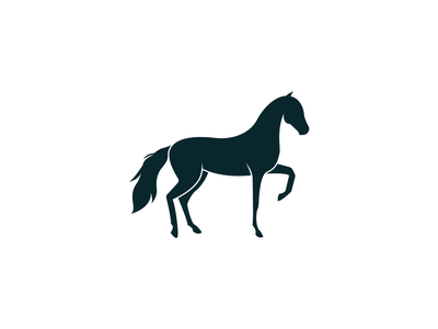 Horse illustration horse logo black animal horses horse invitation mark identity branding design logo