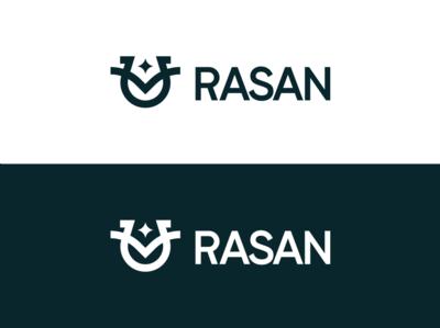 rasan king crown star horse yellow vector pink awards invitation mark identity branding design logo