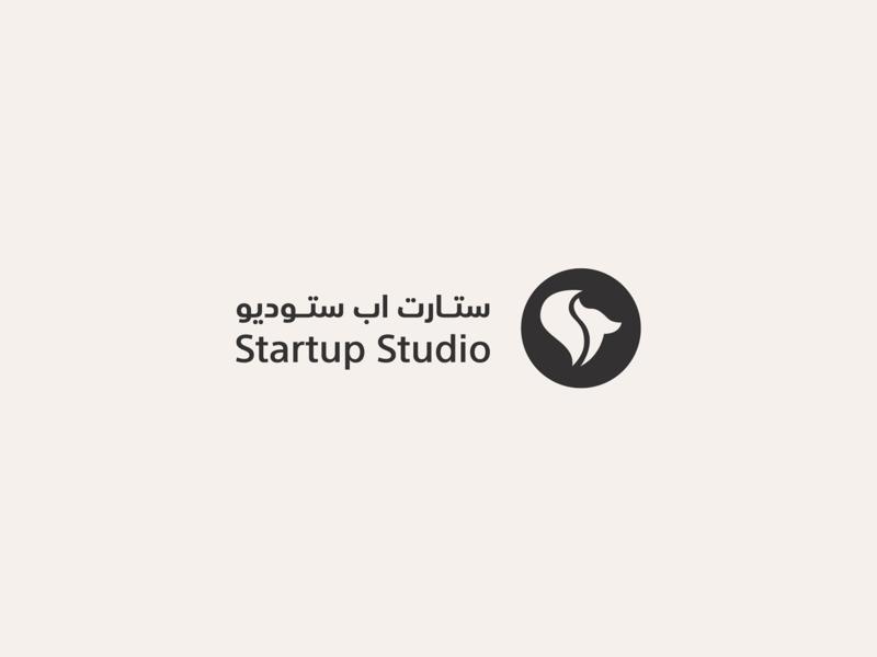 Startup Studio entrepreneurship start fox studio startup green yellow vector awards invitation mark identity branding design logo