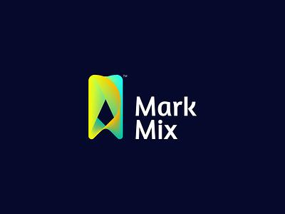 Mark Mix invitation mix colorful design logo mark