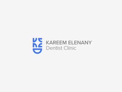 Kareem El enany Dentist clinic logo