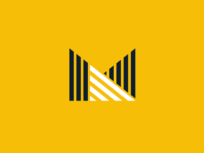 Logo and isotype design for Mobah arquitectura.