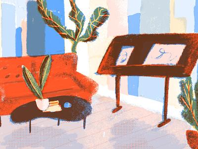 afternoon sketch // dream studio